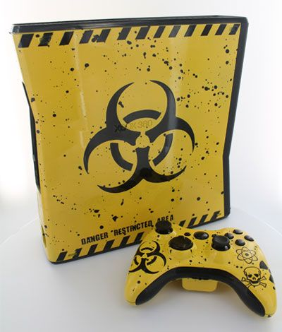 """This is our """"Toxic"""" Case and Modded Controller. All modes are adjustable rapid fire meaning you can choose any speed from 1 to 30 shots per second, depending on specific game restrictions. Since you have 6 classes to choose from you can set each class up to match all of your custom classes in your favorite COD game. You will never have to adjust the controller again! All RapidModz.com controllers are 100% undetectable in all Games."""