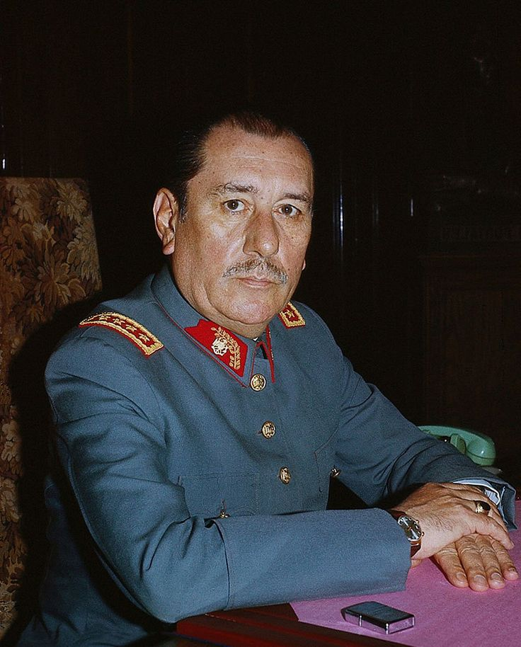 General Carlos Prats González (February 24, 1915 – September 30, 1974) was a Chilean Army officer and minister in the Salvador Allende's government, despite being at the time the Commander-in-chief of the Chilean Army. Immediately after General Augusto Pinochet's September 11, 1973 coup, Prats went into voluntary exile in Argentina. The following year, he and his wife were assassinated in Buenos Aires by a car bomb, revealed as committed by the DINA.