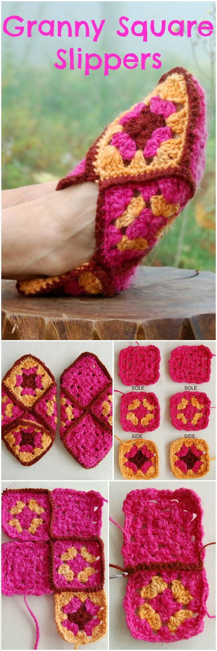 if you want to see some creative but interesting samples of crochet slippers and flip flops then I have brought 20 of the best crochet slippers and flip-flops for your inspiration. #crochet