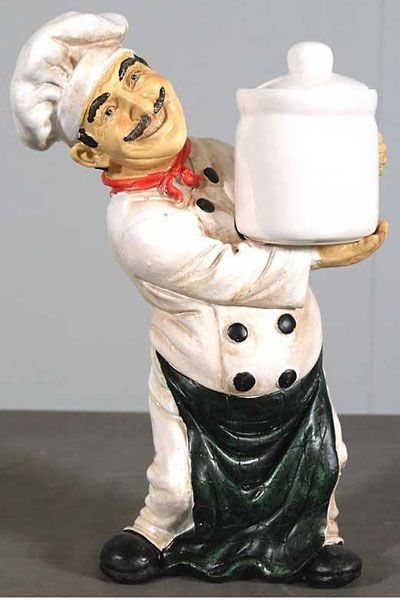 Chef With Jar (11in)