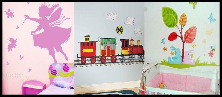 20 Αυτοκόλλητα τοίχου για τη διακόσμηση παιδικού δωματίου! | ediva.gr