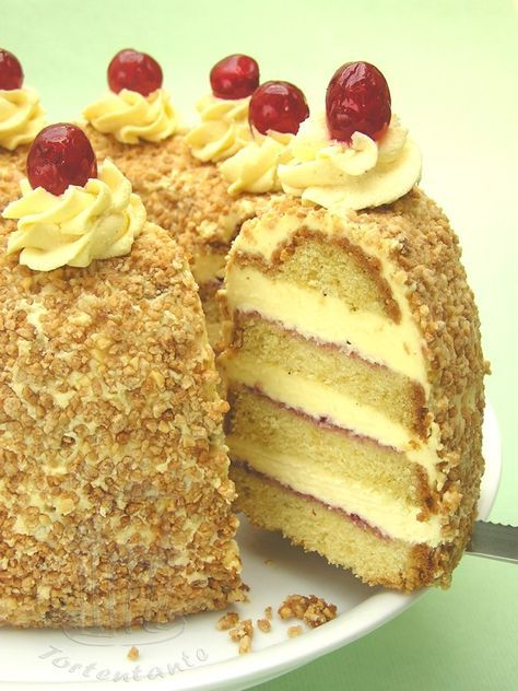 Luftige buttercreme torte