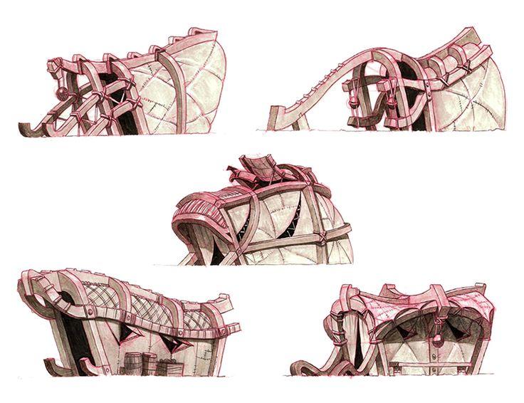 Hut designs. #httyd2