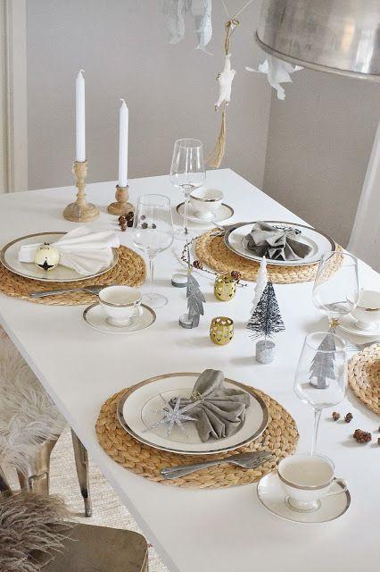 10 ideas para una mesa de navidad elegante navidad - Mesa de navidad elegante ...