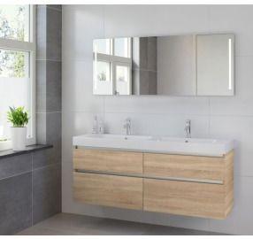 1000 idee n over badkamer dubbele wastafel op pinterest dubbel wastafelmeubel dubbele - Ontwerp entree spiegel ...