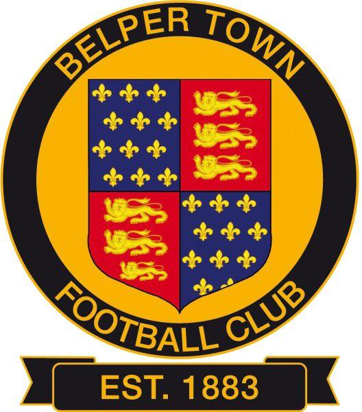 1883, Belper Town F.C. (England) #BelperTownFC #England #UnitedKingdom (L16432)