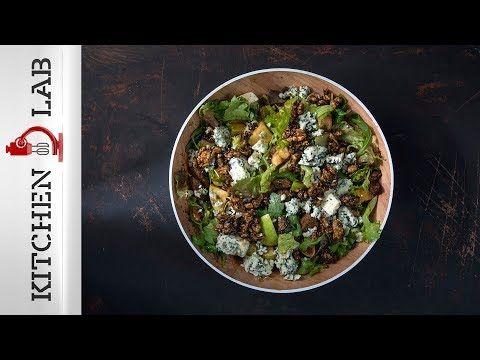 Πράσινη σαλάτα με αποξηραμένα σύκα και blue cheese | Άκης Πετρετζίκης