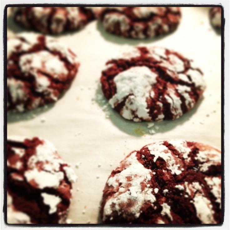 Red Velvet cookies::::the best:::::