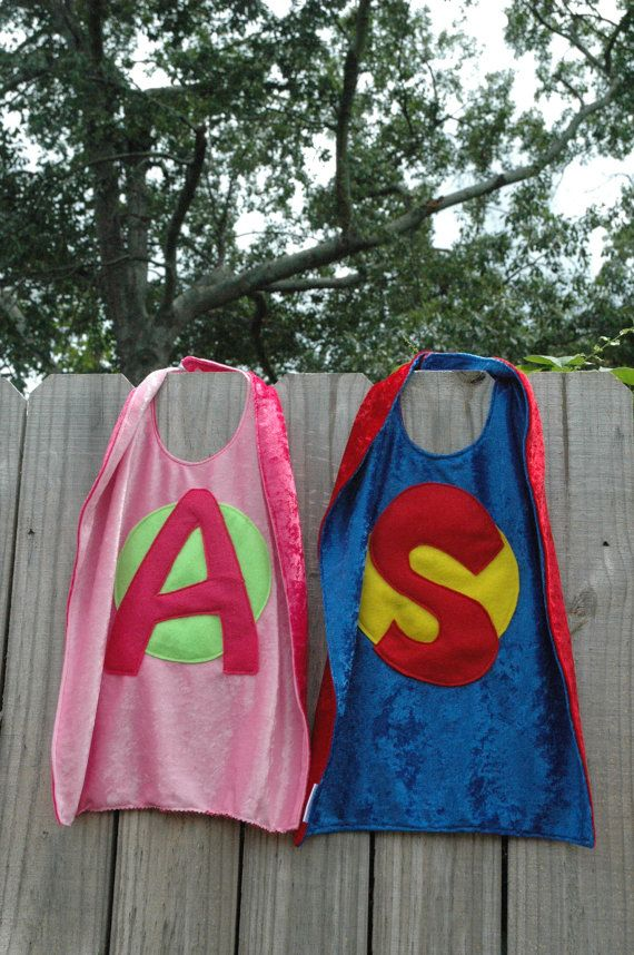 Personalize Your Own SUPER HERO CAPE  Super by TheTreeHouseKid, $28.50