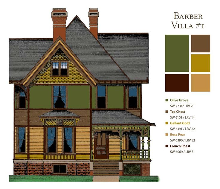 17 best images about victorian decor on pinterest paint colors wallpapers and old houses - Painting old houses exterior concept ...