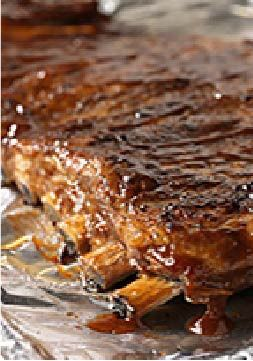 Sweet Mesquite BBQ Ribs – Pork spareribs are brushed with a mixture of A.1. Dry Rubs Sweet Mesquite BBQ and KRAFT Hickory Smoke Barbecue Sauce and then slow-baked to perfection.
