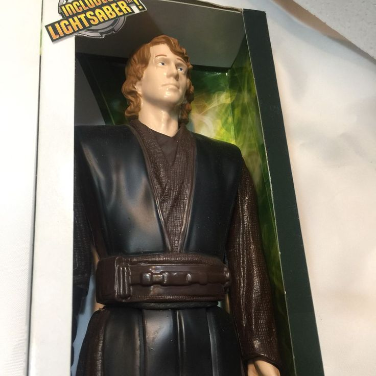 Star Wars Doll Anakin Skywalker 12 Inch Action Figure Hasbro 2012 Has Lightsaber    eBay