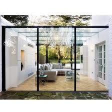 modern extension with conservatory - Google Search extension moderne, jardin d'hiver, veranda reliant deux parties de la maison