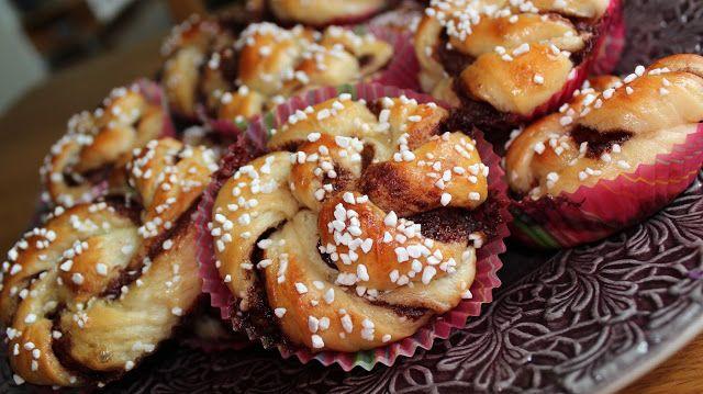 Mat med Suss: Kanelbullar och nutellabullar!