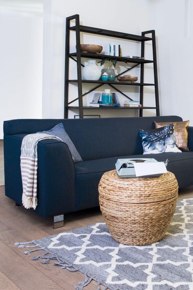 Trendhopper ● Natuurlijke materialen, warme tinten en grafische lijnen geven je interieur een base woonstijl.