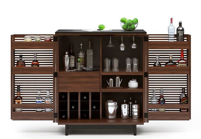 M s de 20 ideas incre bles sobre mini bares en pinterest - Muebles para poner botellas de vino ...