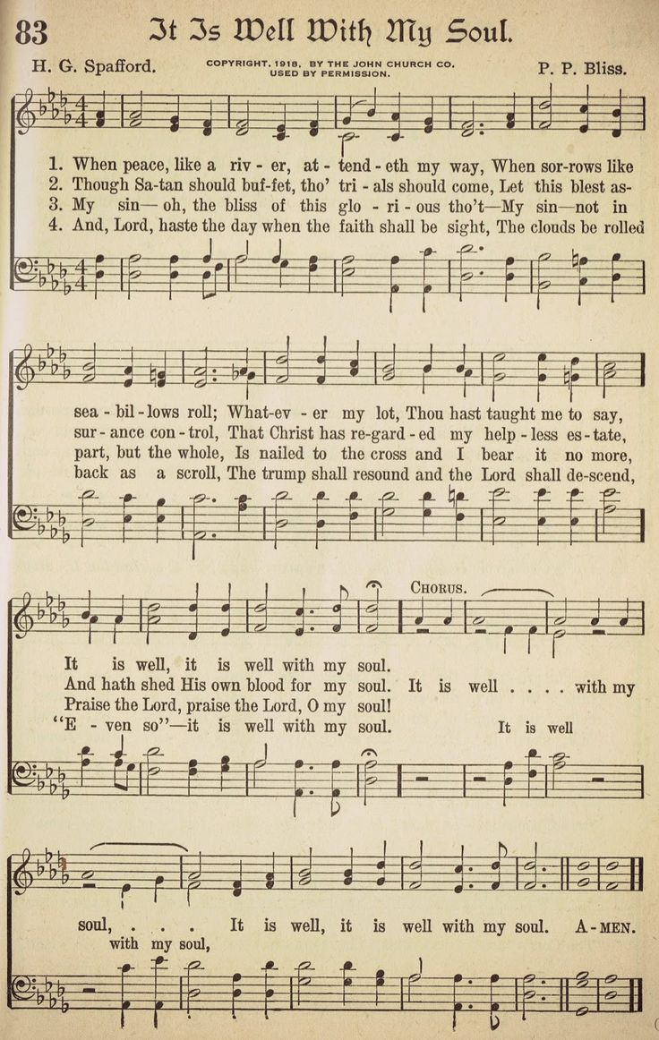 .I love this....we sing this hymn occasionally in church