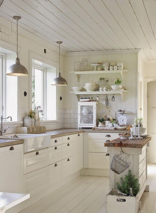 21 Charming Small French Country Kitchen Design And Decorating Ideas