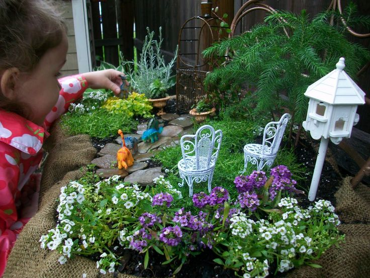 fairy garden backyard mini gardening designs