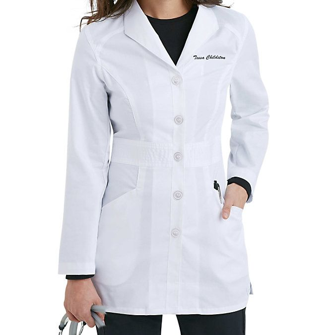 Landau Smart Stretch Mid-length Lab Coats Main Image