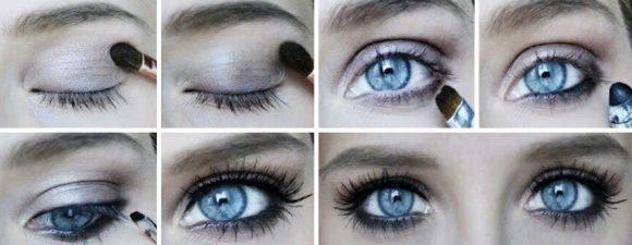 Макияж для голубых глаз (тени Мэри Кэй, часть 2)