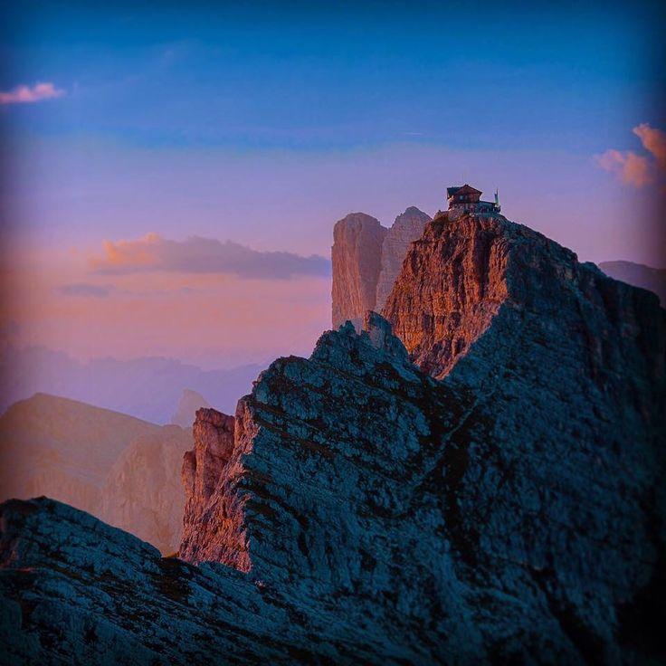 Tramonto sul Nuvolau Belluno Dolomiti Veneto Italia by Enrico Beraldo