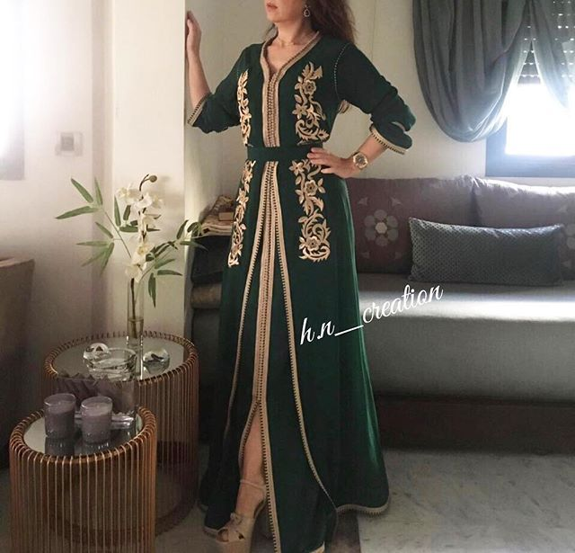 Tenue travaillée avec mâalem et brodée by H&N ✨ #HetN #creation #couture #djellaba #gandoura #caftan #tenue #robe #broderie #perlage #handmade #quality #morocco