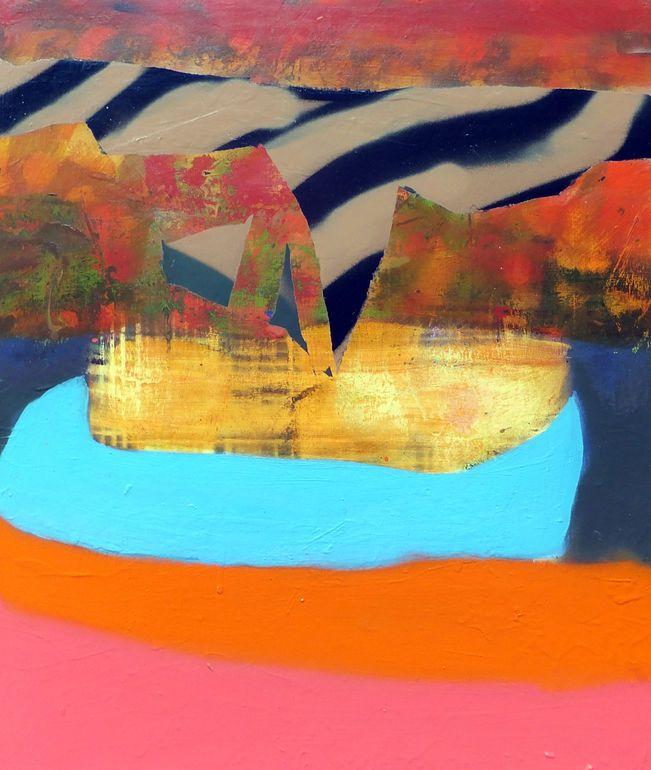 "Saatchi Art Artist: Andrew Murray; Acrylic 2014 Painting ""Latitude #4"""