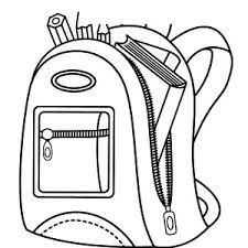school lunch bag coloring pages - photo#31