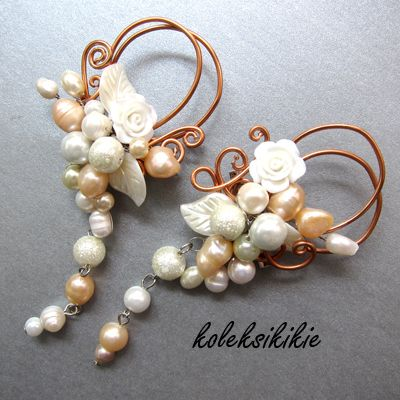 bros-wire mutiara #broche #pearl #mutiara #bros #manik-manik #accesories