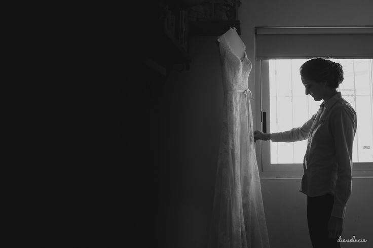 Bride's getting ready