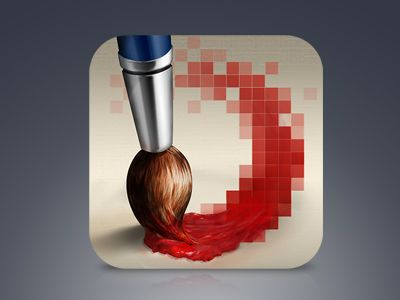Paintbrush by Rosetta Icon Design
