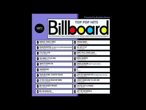 Billboard Top Pop Hits - 1971 - YouTube | Music/My Time in