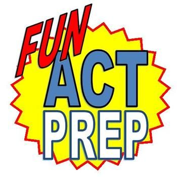 """EVERYTHING you need to prep your teens for the ACT without boring them to tears! Complete """"Fun ACT Prep"""" bundle for grades 9-12; includes 2 workbooks, 3 PowerPoint presentations, & 4 ready-to-print posters. An ENTIRE English/Reading ACT Prep class ready to go!"""