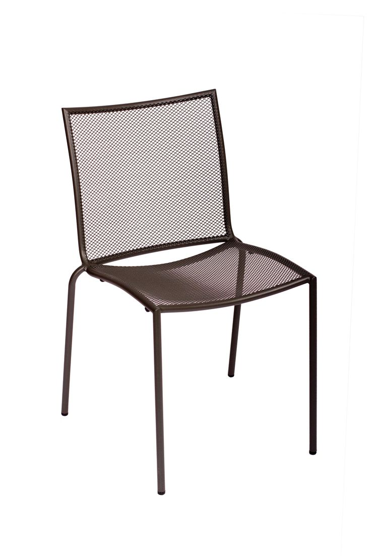 Yellow frame vintage sheet metal french cafe and bistro armless chairs - Bfmseating Vista Armless Stacking Side Chair Allmodern