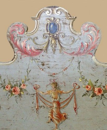 Italian antique painted furniture