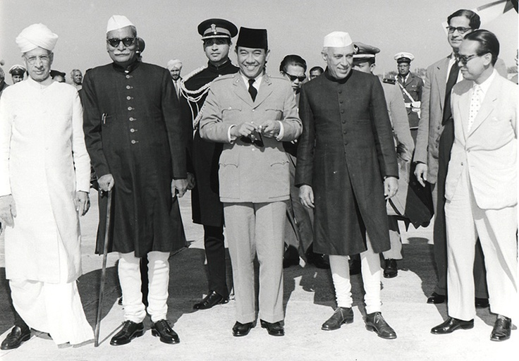 Soekarno Nehru