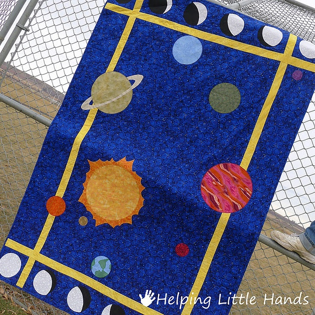 Awesome space quilt sewing quilting pinterest kid for Space quilt pattern