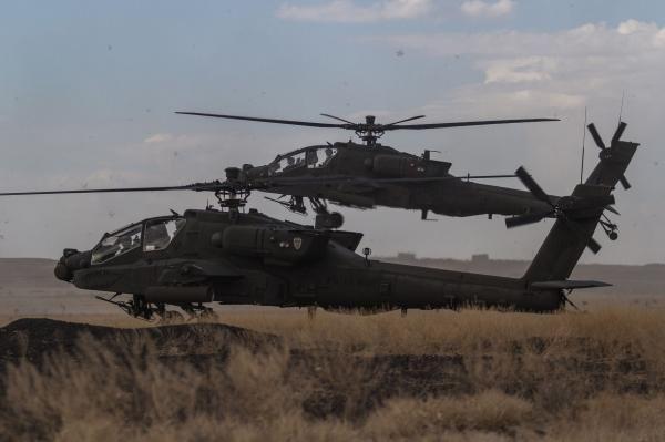 Elizabeth Shim Jan. 27 (UPI) -- South Korea has finished deploying new Apache helicopters.