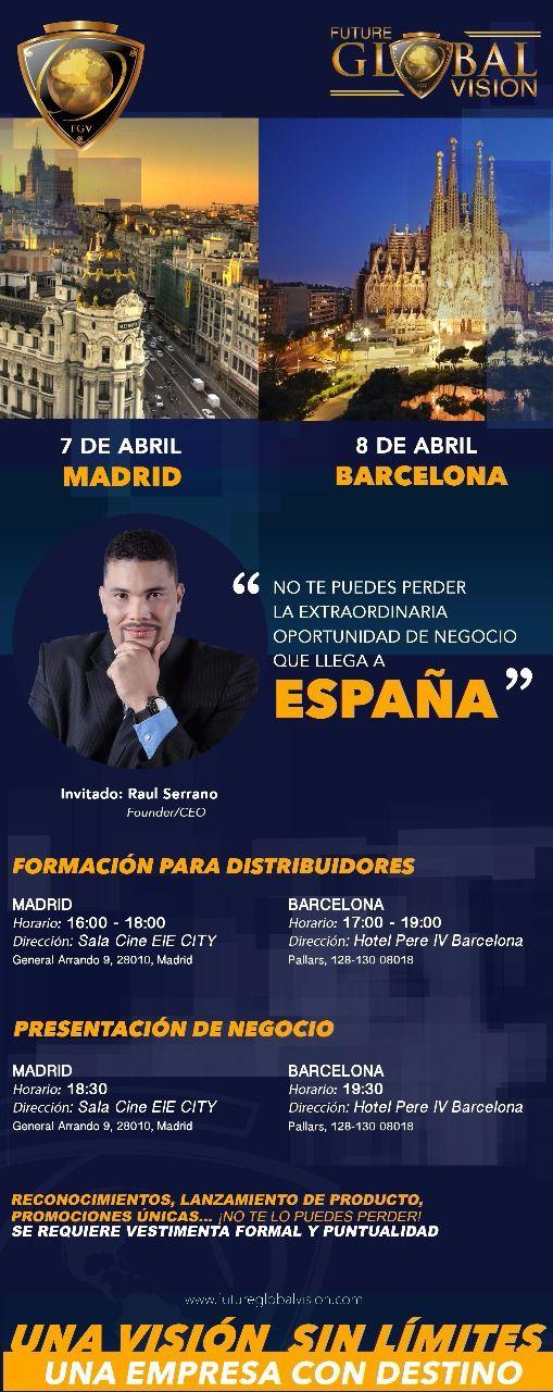 Visita y Presentación en España de FGV, Sr. Raul Serrano (Presidente/CEO)