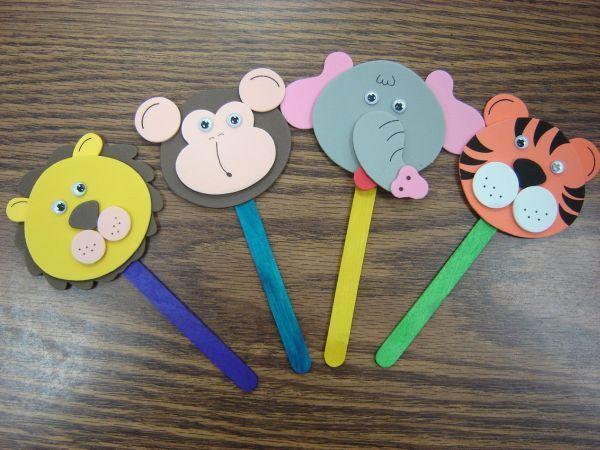 Há lindas ideias de artesanatos para o dia das crianças 2015 (Foto: childpainting.xyz)