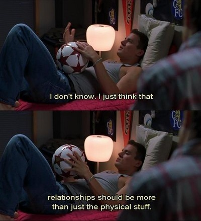 end of relationship shes the man channing