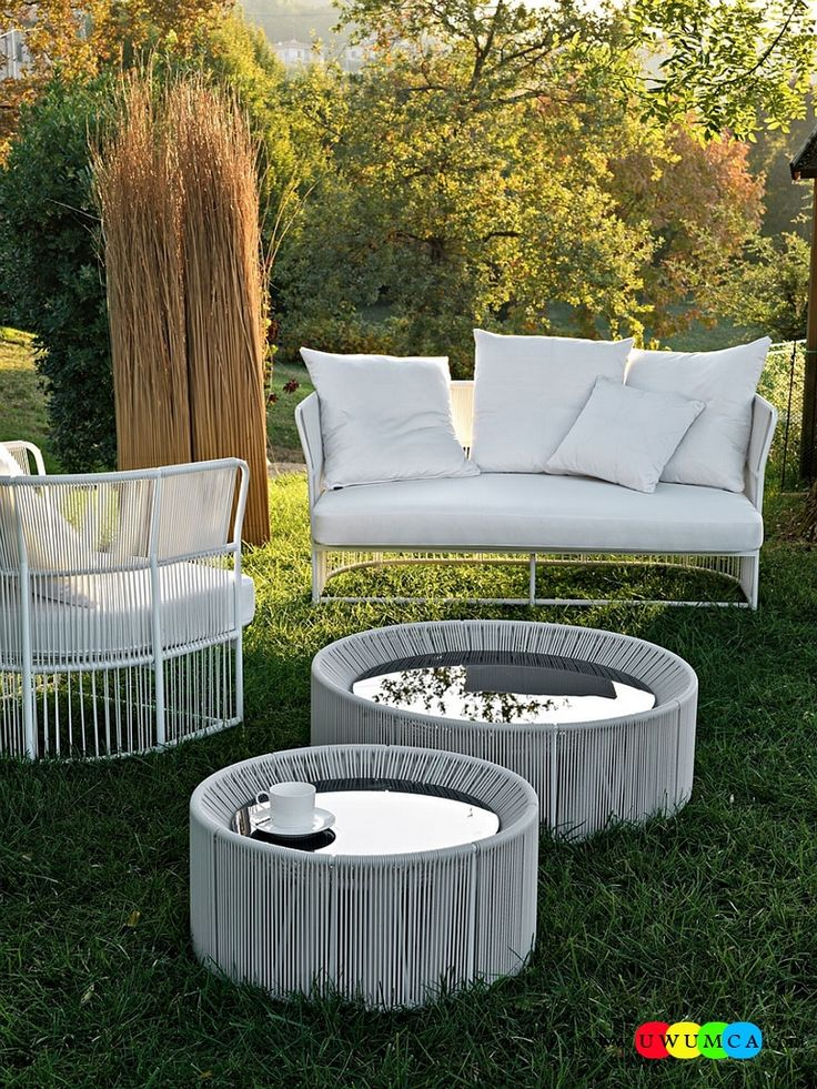 Furniture:Rustic Outdoor Summer Lounge Furniture Collection Easy Summer Garden Lounge Escapes Sofas Chairs Bar Table Set Tibidabo Lounge Armchair And Sofa With A Light Aluminum Frame Luxurious Outdoor Decor Fruniture Collection To Enliven Your Relaxed Summer Lounge!