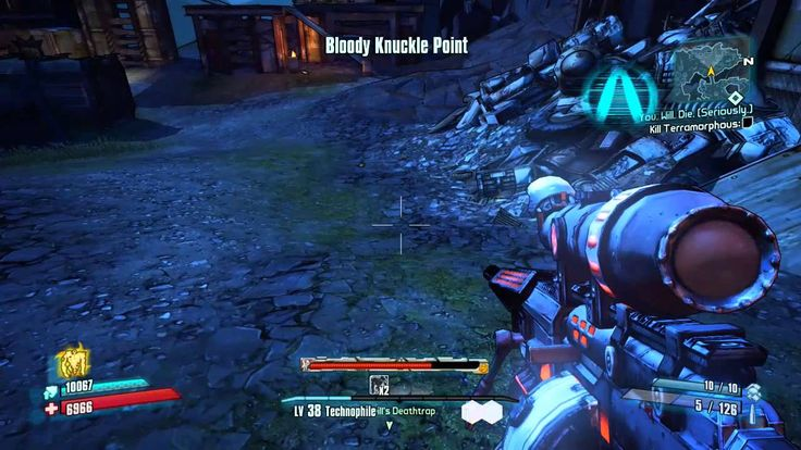 Borderlands 2 You Will Die Seriously mission
