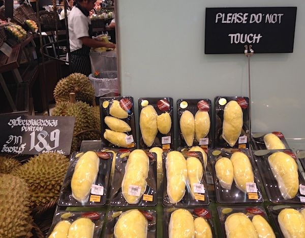 frozen fruit healthy durian fruit