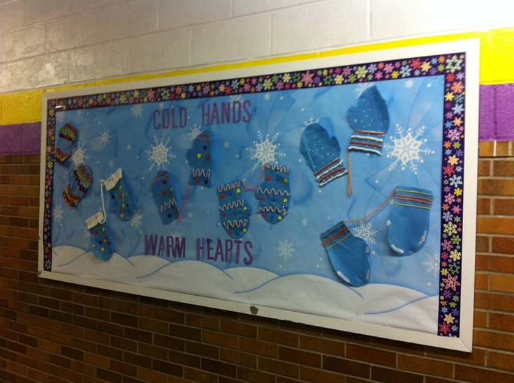 1000 Images About Winter Bulletin Board Ideas On Pinterest Snowflakes Kid Names And Winter