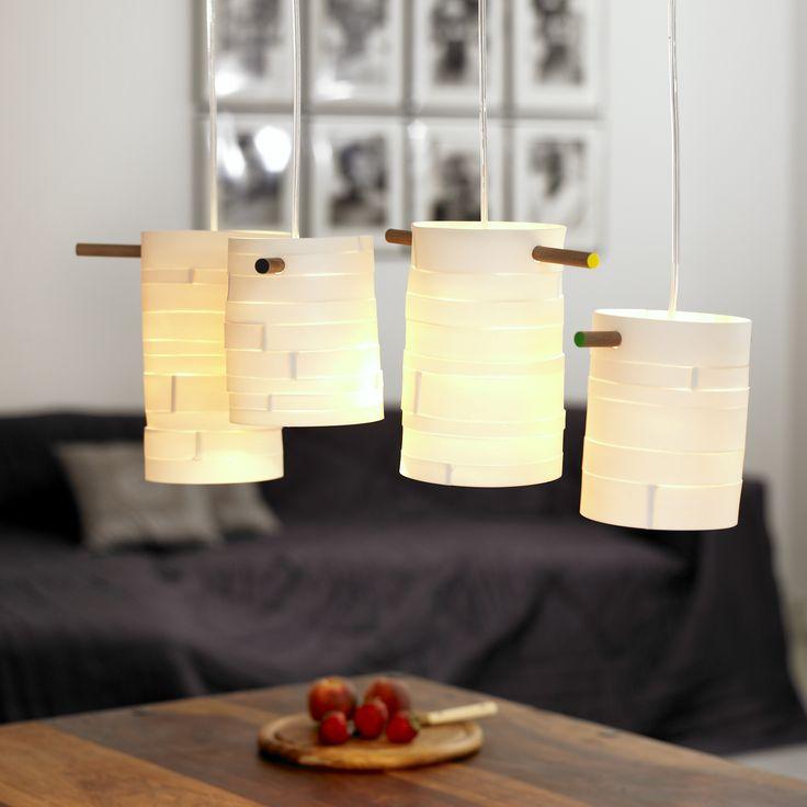 porcelæns pendler. lamper af Alikka
