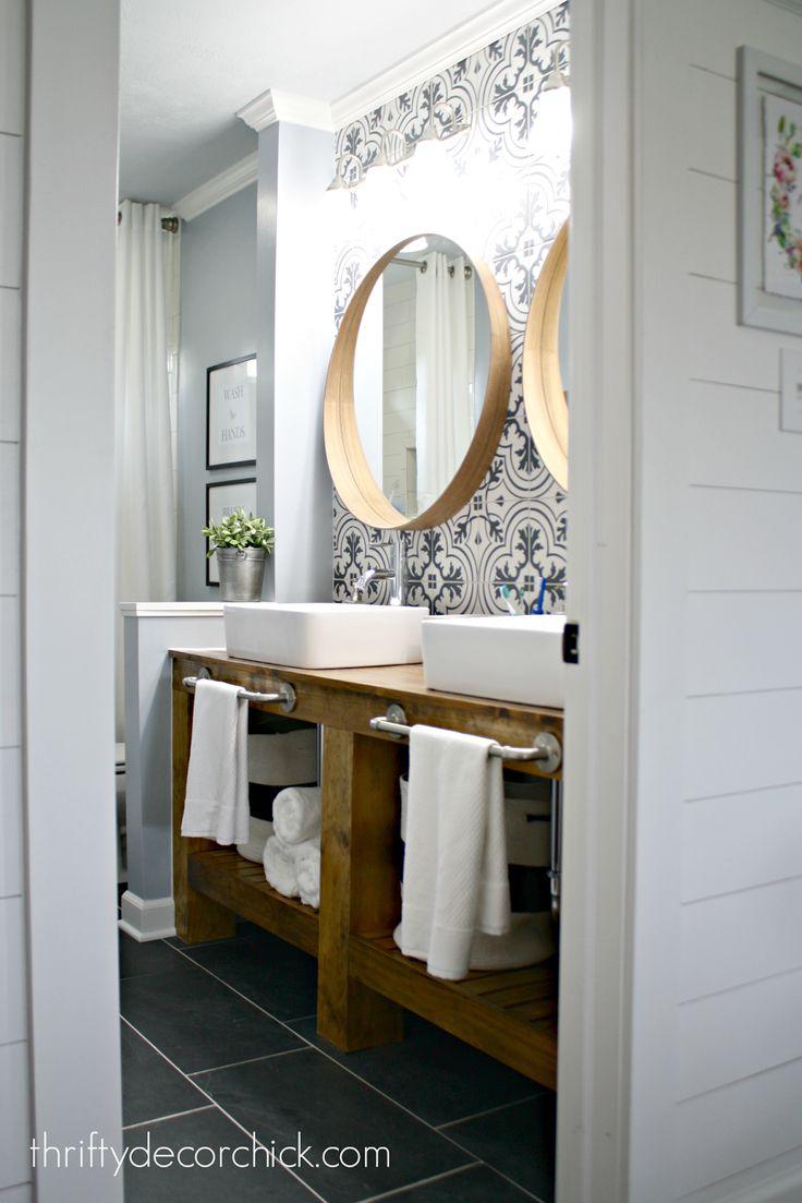 best 25+ modern farmhouse bathroom ideas on pinterest | farmhouse