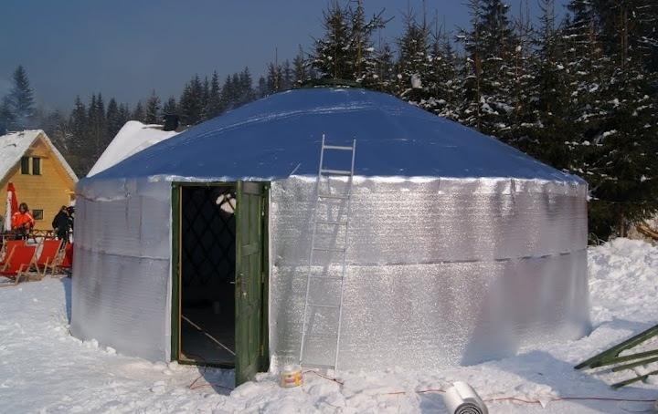 Winter Yurt Insulation Ski Resort Yurt In 2019 Yurt