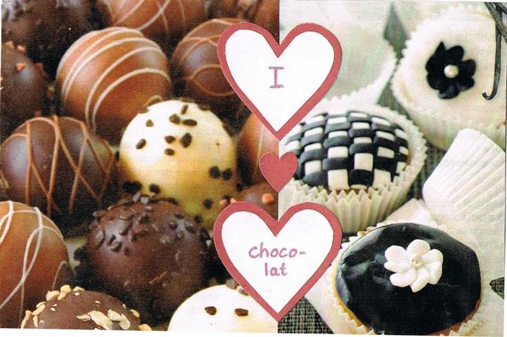 A delicious card for all chocolatlovers :)